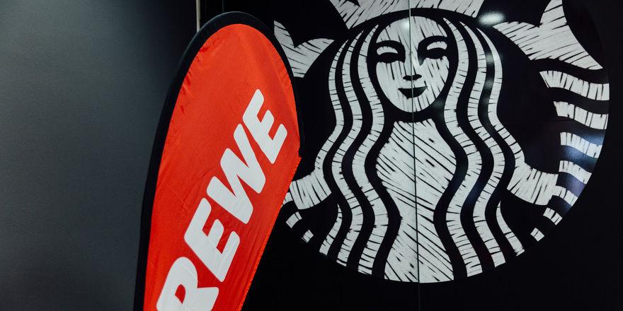 Partner: Starbucks und Rewe