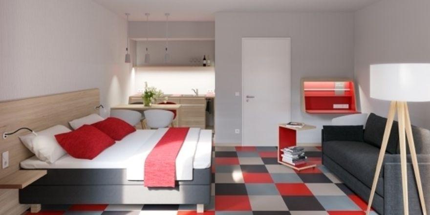 leipziger hotel startet apartmenthaus allgemeine hotel und gastronomie zeitung. Black Bedroom Furniture Sets. Home Design Ideas