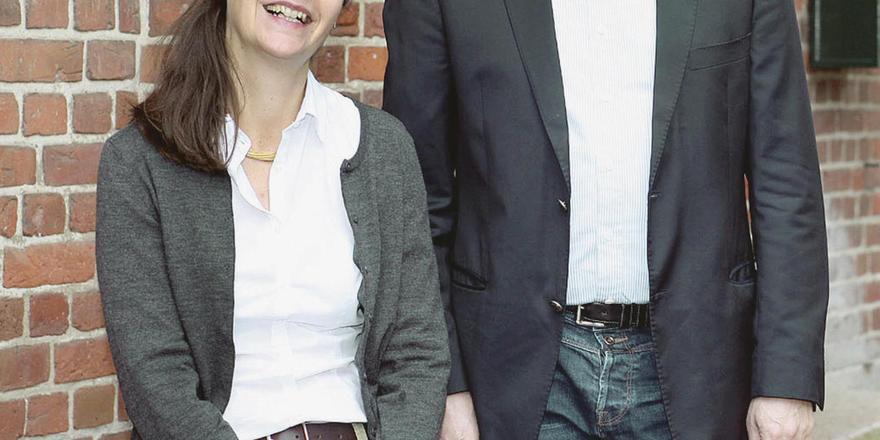 Packen an: Christine und Philipp von Stumm entwickeln Gut Thansen kontinuierlich weiter.