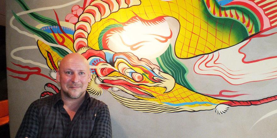 Asien-Fan: Christian Ribitzki setzt mit The Drunken Dargon Bar sein chinesisches Konzept weiter fort