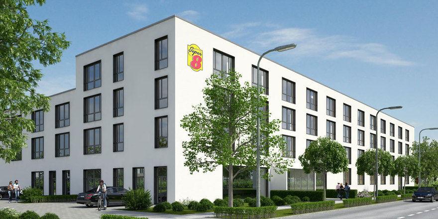 Am Münchner Ring: Das Super 8 Munich City North ist das zweite Haus der Marke in Europa