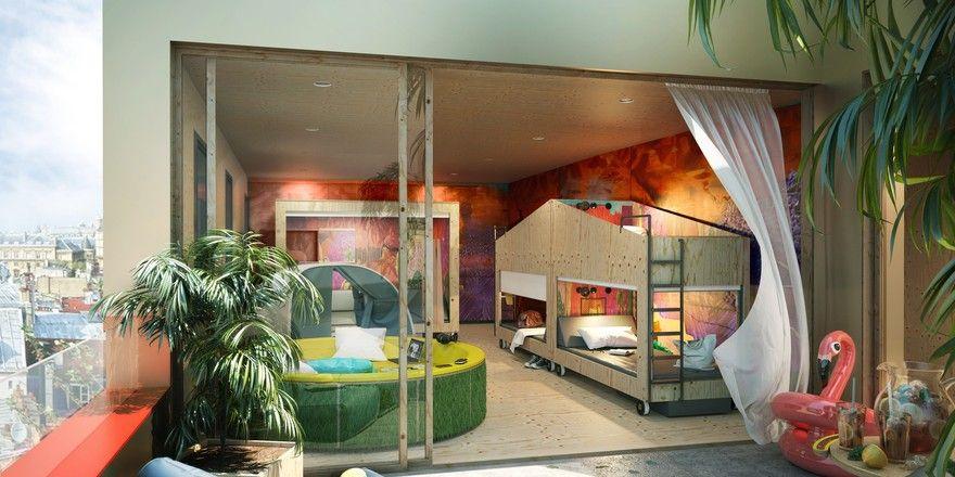Neue Zimmerformate: Bei der Marke Jo & Joe will Accorhotels neue Wege gehen