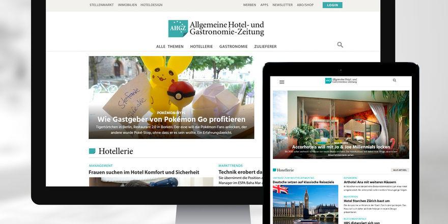 Passend für alle Geräte: AHGZ.de zeigt sich jetzt noch mobile-freundlicher