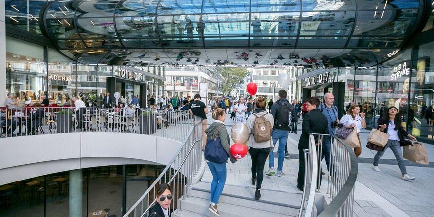 Steht für ein modernes Mannheim: Der neue Stadtteil Q6Q7.