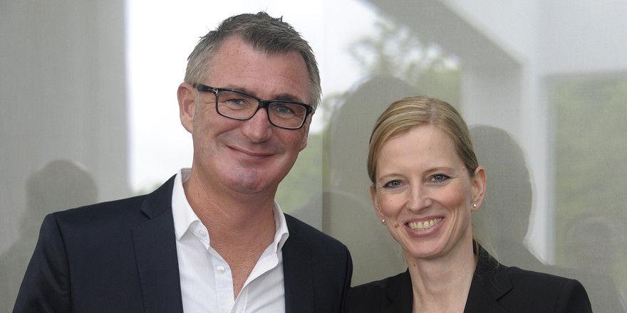 Planen neues Hotel: Das Hotelierspaar Arnt Vesper und Anke Hartmann