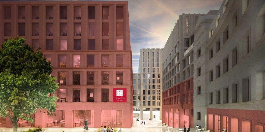 So wird es aussehen: Das Leonardo Royal Hotel Nürnberg