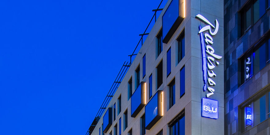 Radisson blu hotel mannheim er ffnet allgemeine hotel for Designhotel mannheim
