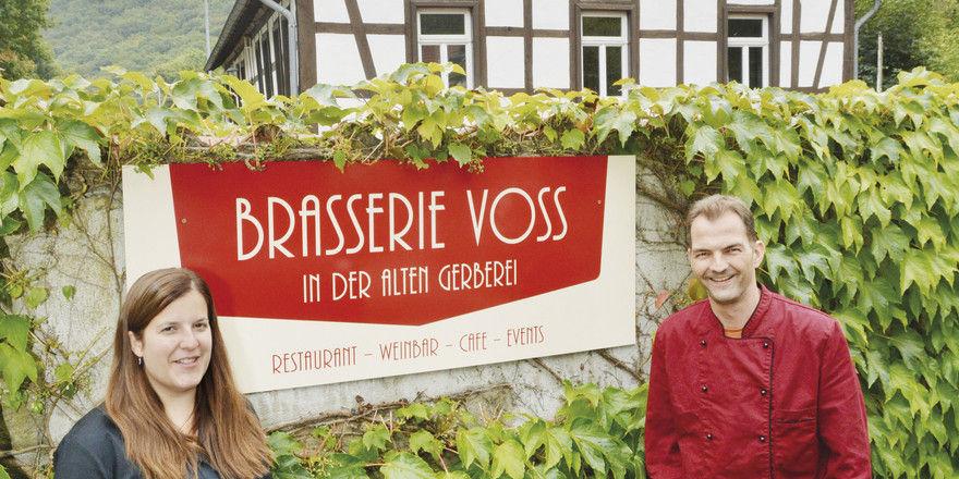 Katja und Markus Voss: Die gelernten Köche bringen wieder Leben in die Alte Gerberei.