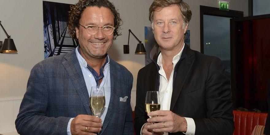 Ziehen nun an einem Strang: Christoph Hoffmann (links), CEO der 25hours Hotels und Sébastien Bazin, Chairman & CEO der Accorhotels