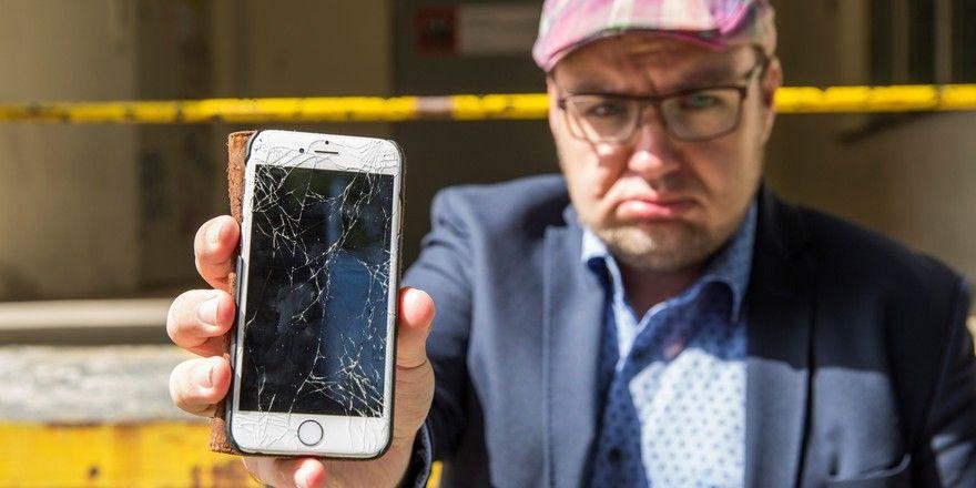 "Florian Bauhuber: ""Ohne Smartphone geht wenig."""