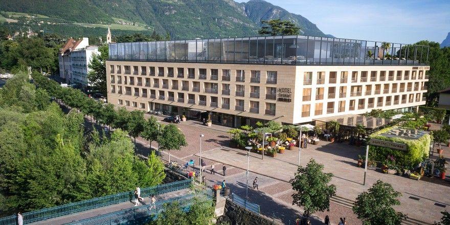 Hotel therme meran bekommt rooftop spa allgemeine hotel for Design hotel meran