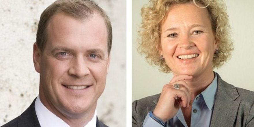 Neue Aufgaben: Christoph Scherk und Alexandra Schulz