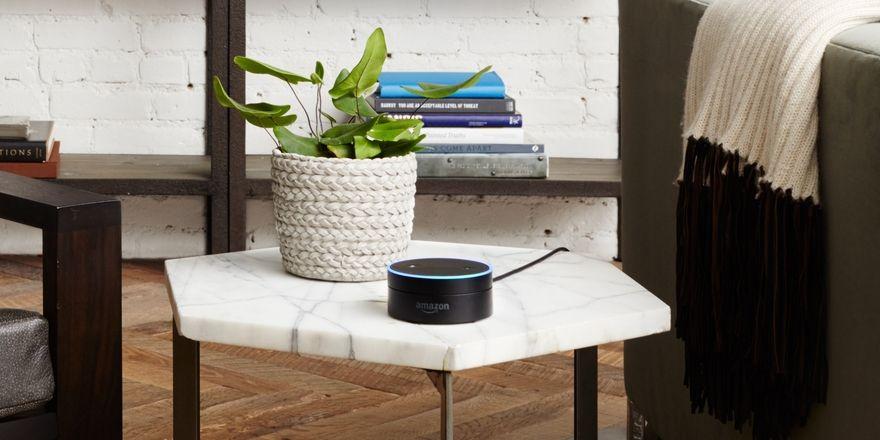 Unscheinbare Geräte: Mit Amazon Echo und Amazon Echo Dot können die Kunden sprechen