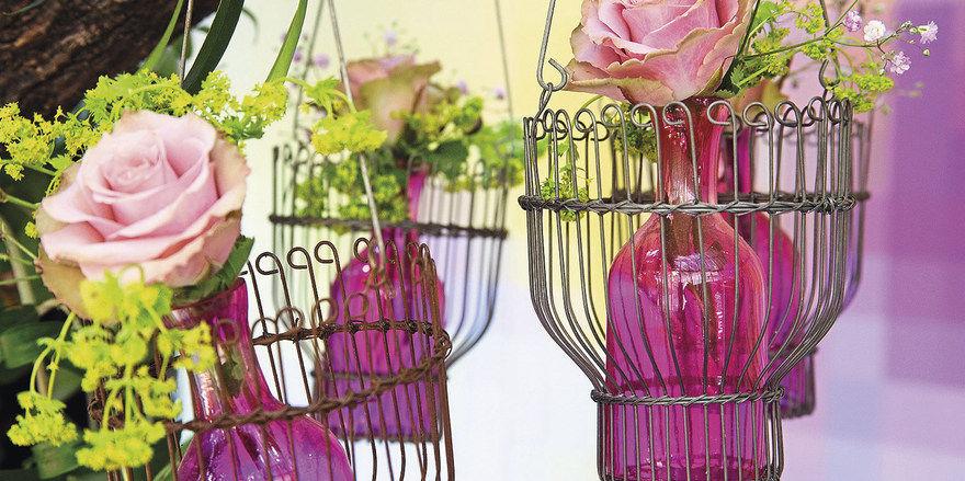 Frühlingsgefühle: Die neue Fachmesse Floradecora läuft parallel zur Christmasworld.