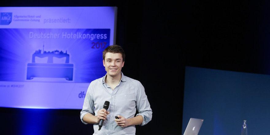 Philipp Riederle: Weiß, was junge Gäste erwarten.