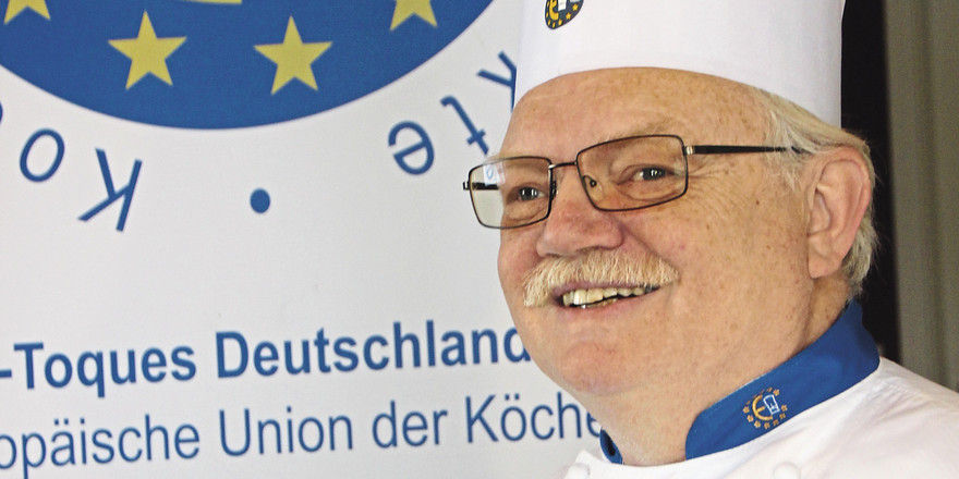 """Wolfgang P. Menge: """"Wer Mitglied bei Euro-Toques werden will, benötigt aus dem Kreis der Euro-Toques-Chefs zwei Paten, die für ihn bürgen."""""""