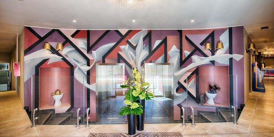 Stylish: Die Lobby im neuen NYX Hotel in Mailand