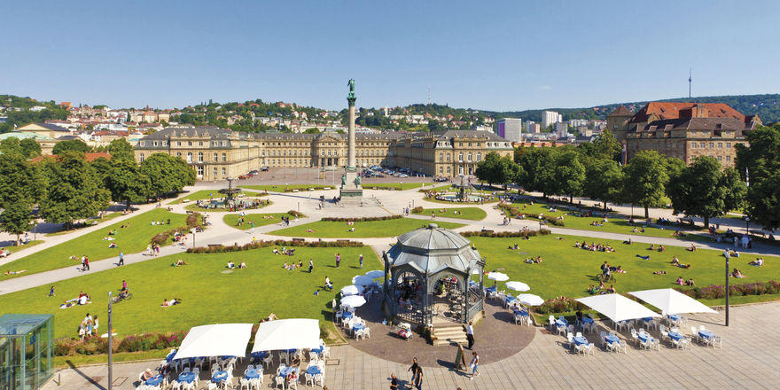 Mehr Gäste in Stuttgart: Die Landeshauptstadt ist beliebt.