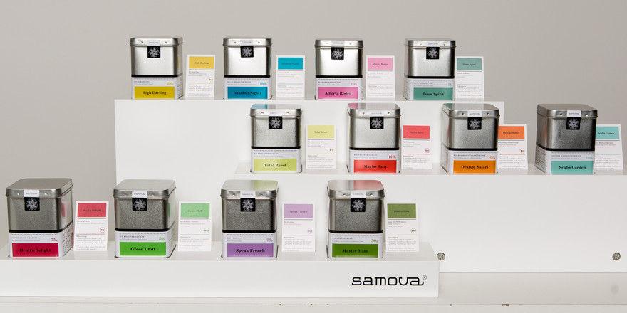 Vielfältig einsetzbar: Die Tees von Samova lassen sich auch zu Cocktails weiterverarbeiten