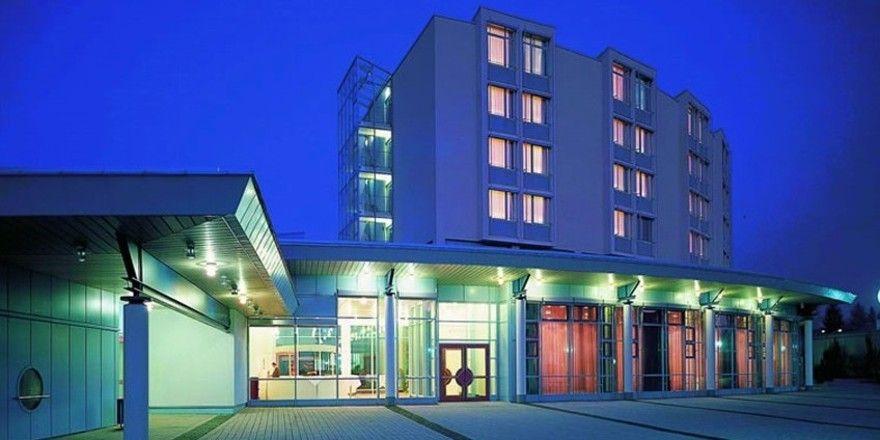 DHNP-Schauplatz: Das Best Western Plus Palatin Kongresshotel in Wiesloch