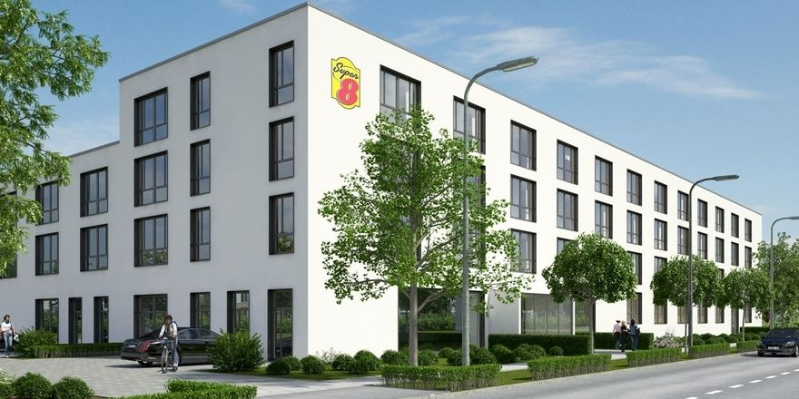 Aus Wachstumskurs: Die Marke Super 8, hier ein Haus in München, will auch in andere deutsche Städte