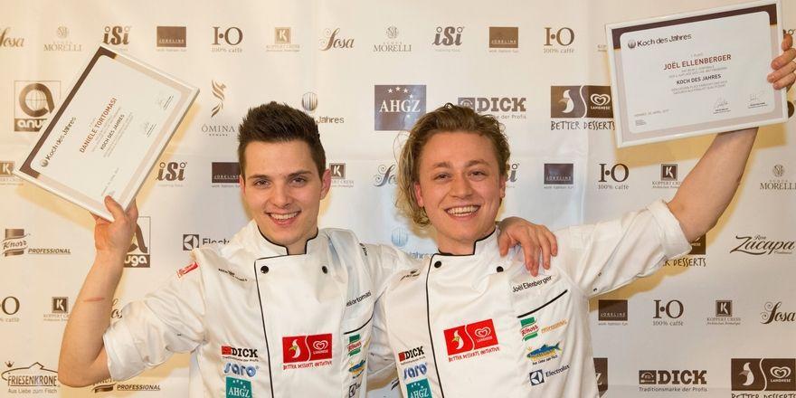 Sind im Finale: Die beiden 23-Jährigen Daniele Tortomasi (links) und Joël Ellenberger