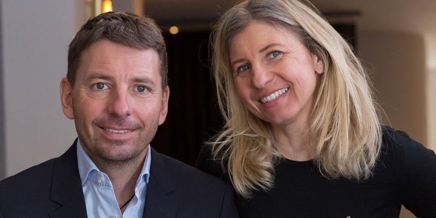 Ein gutes Team: Alessandro Gambino und seine Schwester Sabrina Gambino-Kreindl