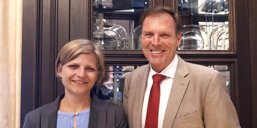 Neue Doppelspitze bei Derag Livinghotels Österreich: Andreas F. Hölzl und Fiona Machovits