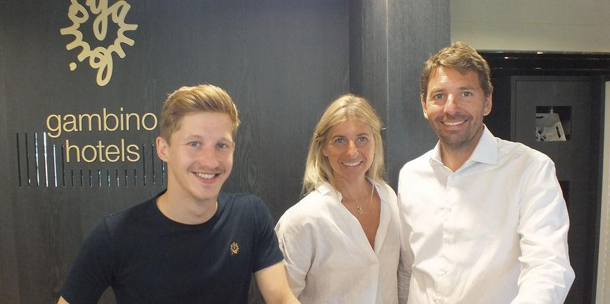 Die Macher: (von links) Carsten Werblow, Sabrina Gambino-Kreindl und Alessandro Gambino.