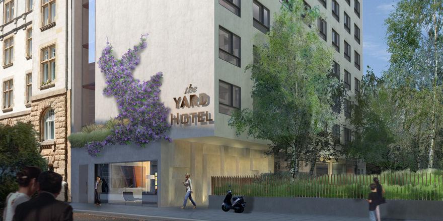 Das The Yard: Es ist das erste Projekt der RIMC Hotelgruppe in der Hauptstadt