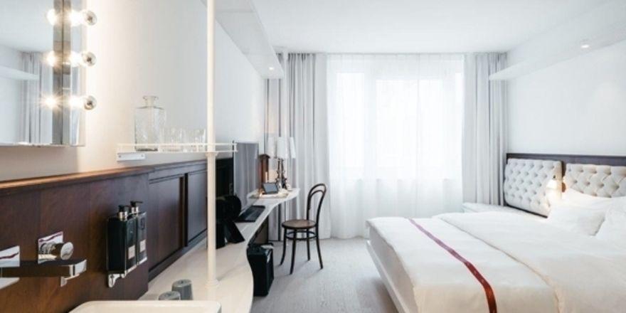 Lässig und zugleich elegant: So präsentiert Ruby die Zimmer im neuen Ruby Hotel Lissi