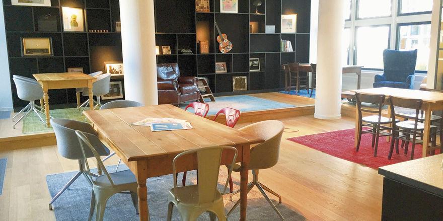 Arbeiten in Gesellschaft: Coworking Space der Marke Ruby Works in München, den die Kette unabhängig von ihrem Hotelprodukt lanciert hat.