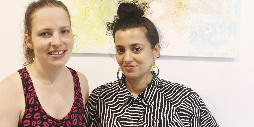 Die Gründerinnen: Nina Martin (links) und Louna Sbou sehen das Be'kech als Anti-Café.