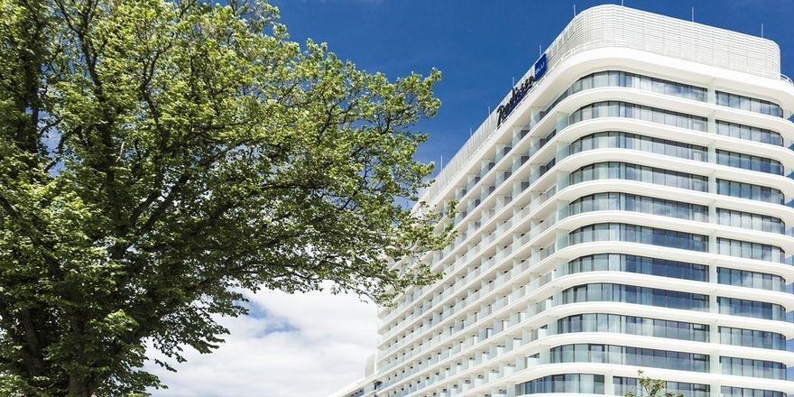 So sieht es aus: Das Radisson Blu Resort Swinemünde