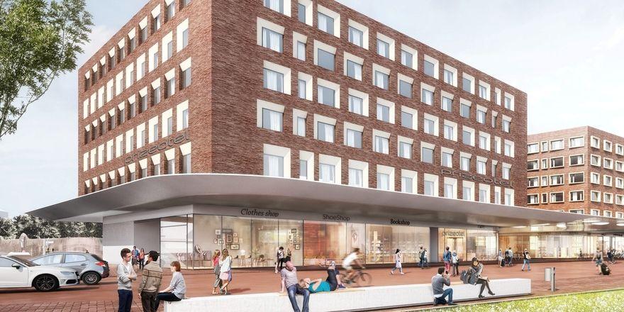 So soll's aussehen: Das geplante Prizeotel Münster-City