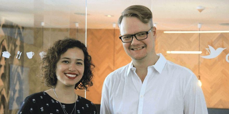 Neu bei Orderbird: Rani Verschoor und Frank Schlesinger
