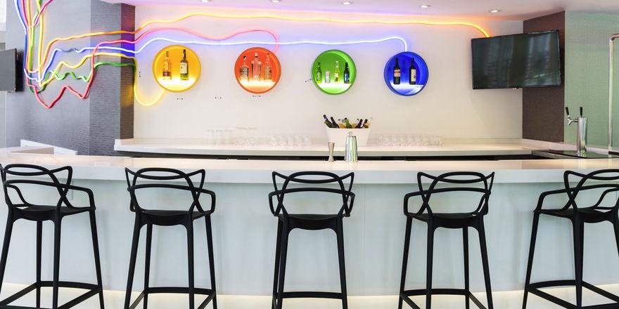 Von der Subway inspiriert: Das Design im Ibis Styles Hotel