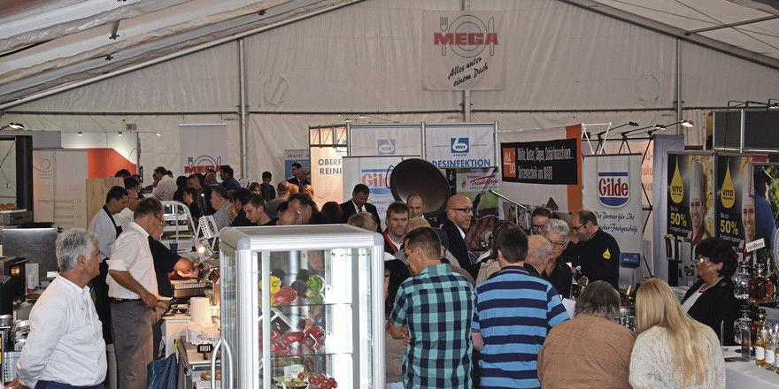 Immer gut besucht: Die Mega-Hausmesse.