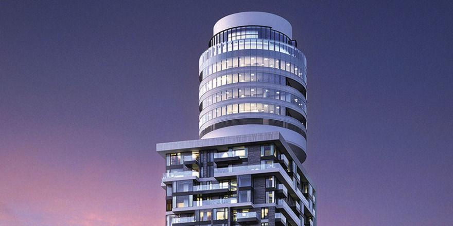 Der neue Henninger Turm: Ins Rondell zieht das Restaurant