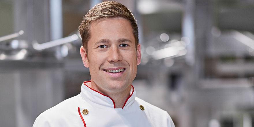 Florian Hartmann: Er steht für eine klassische, moderne Küche mit französischen Einflüssen.