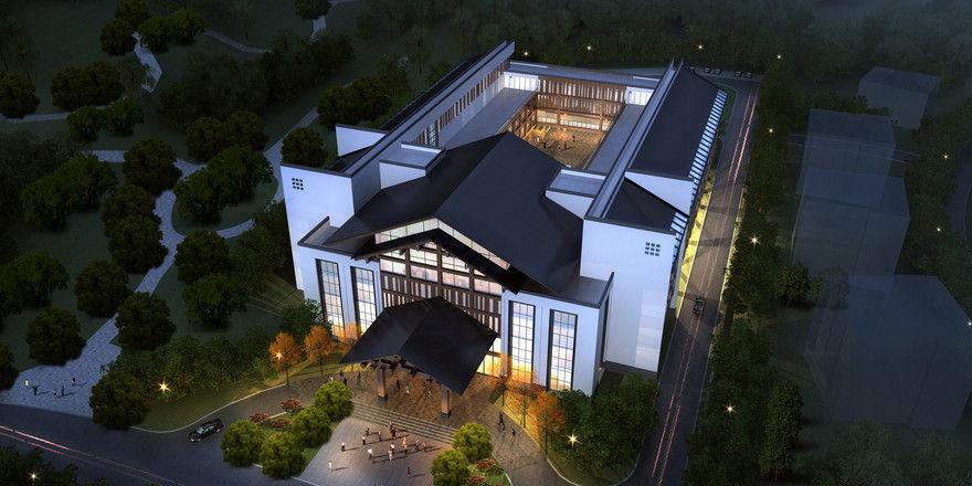 So soll es aussehen: Das Ameron Hotel Lu'an in Jinzhai Jade Garden.