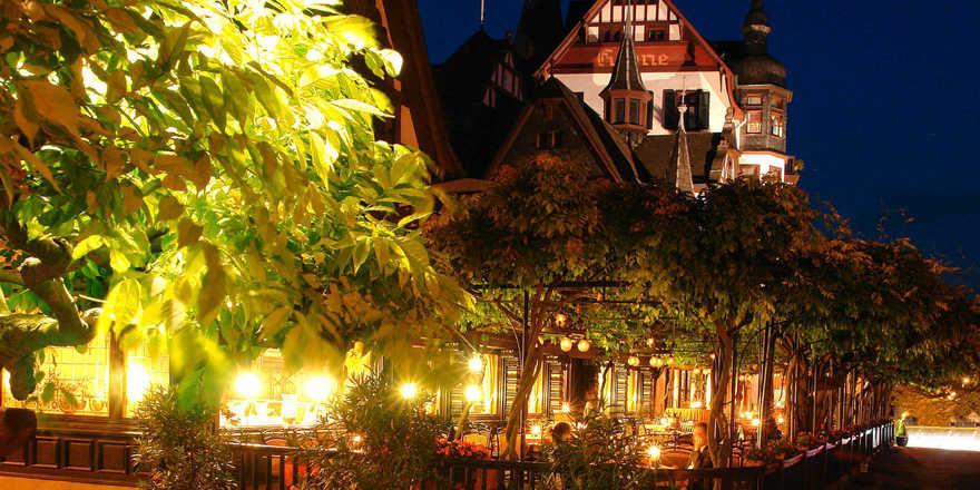Ein schillerndes Haus: Das Hotel Krone Assmannshausen