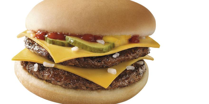 Beef bleibt: Doppel-Cheeseburger von McDonald's