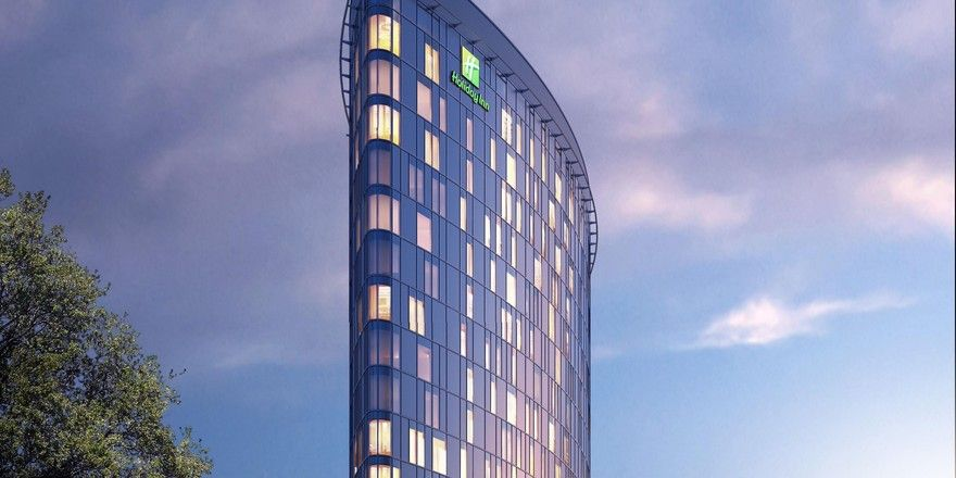 Holiday Inn: 297 Zimmer warten in der City Nord auf Gäste.