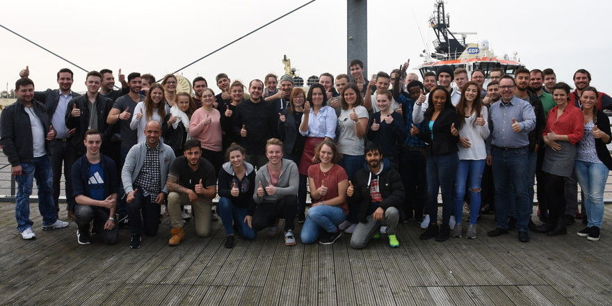 JRE-Azubis unterwegs: Die Nachwuchsköche bei Deutsche See Fischmanufaktur in Bremerhaven