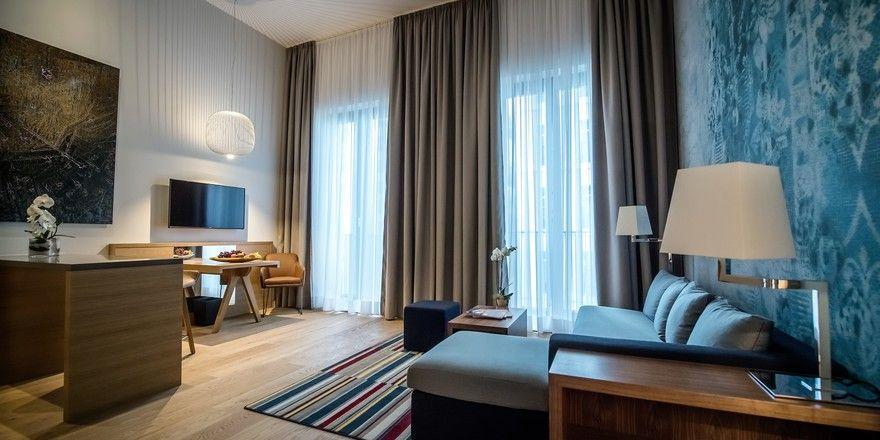 Komfortabel ausgestattet: Die Suiten von Hyatt House in Düsseldorf.