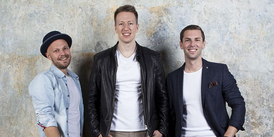 Umtriebiges Start-up-Team: Daniel Etti, Jannis Gerlinger, Patrick Deseyve stehen hinter Hotelshop.one