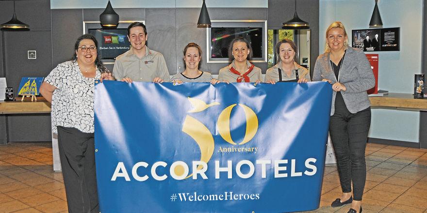 Einsatz in Köln: Accorhotels luden sozial Engagierte aus der Nachbarschaft in die Hotels ein.