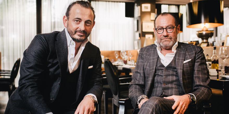 Umtriebige Unternehmer: Micky Rosen (rechts) und Alex Urseanu
