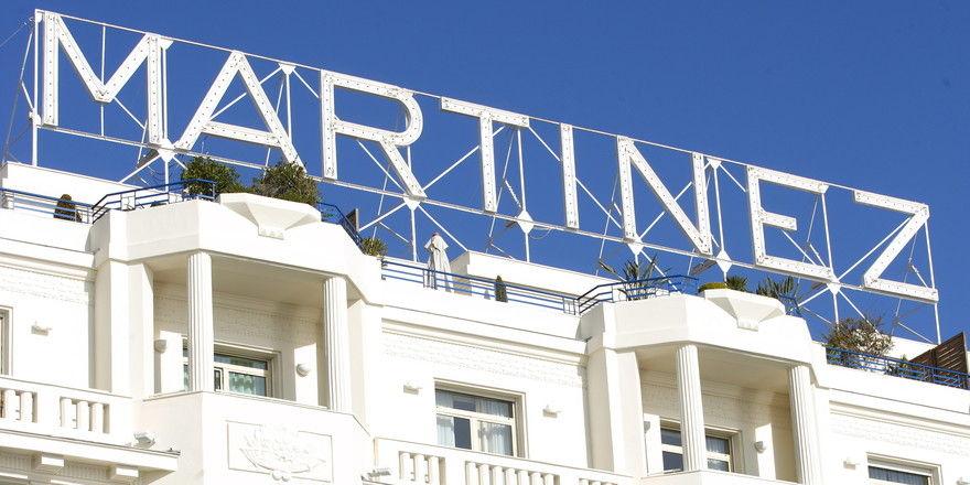 Hotel Martinez: Modernste Technik hinter historischer Fassade